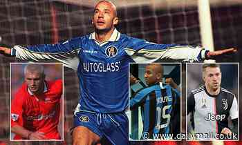 Sportsmail's Serie A dream team of former Premier League stars
