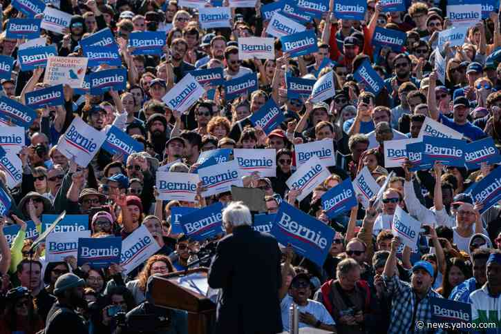 Bernie Sanders Jumps to First in New Hampshire Poll