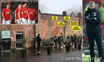 Manchester United flops are treated to a spa day after Burnley defeat
