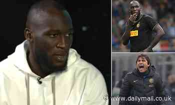 Romelu Lukaku reveals how Inter Milan boss Antonio Conte brutally scolded him in front of team-mates