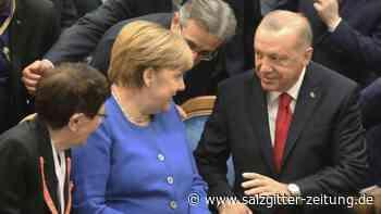 """Deutsch-türkische Beziehungen: Erdogan empfängt """"Freundin"""" Merkel betont herzlich"""