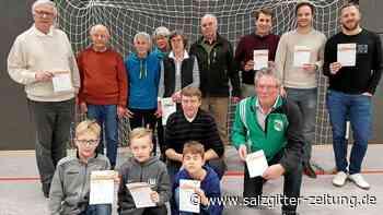 Drei Sülfelder Sportler feiern Sportabzeichen-Jubiläum