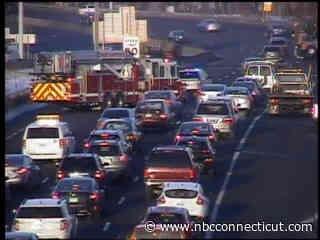 Crash Caused Delays on I-84 West in East Hartford