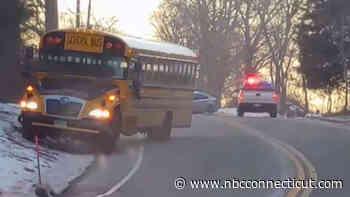 School Bus Involved in Crashin Mansfield