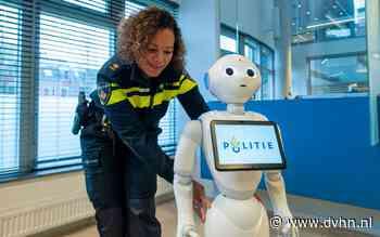 Politierobot neemt eenvoudige aangiftes op