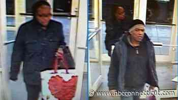 Hamden Police Searching for Two Suspected Shoplifters