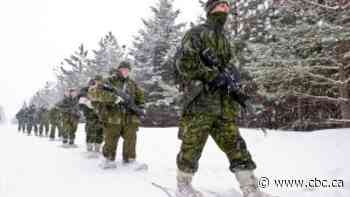 Local military out for winter training this weekend