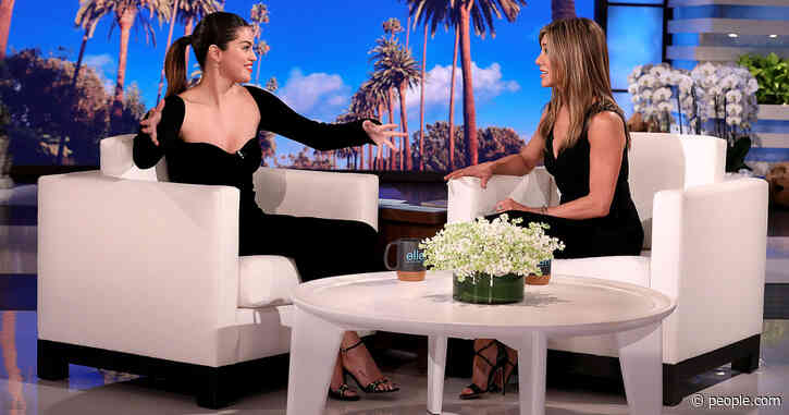 Selena Gomez Recalls Meeting Jennifer Aniston for the First Time in a Bathroom: 'I Freaked Out'