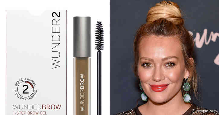 Hilary Duff's Secret to Bold Brows Is Only $17 on Amazon Right Now