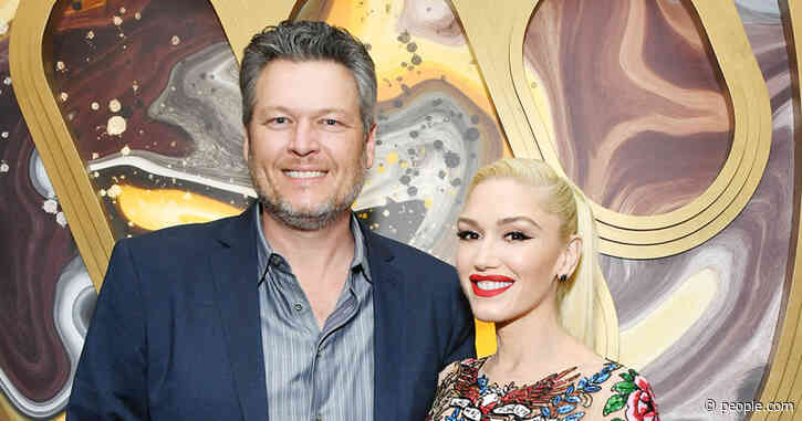 Blake Shelton and Gwen Stefani Hold Hands at Pre-2020 Grammys Party Ahead of Duet Performance