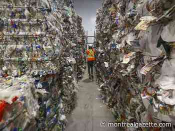 Montreal recycling plant operator shuts down all Canadian operations
