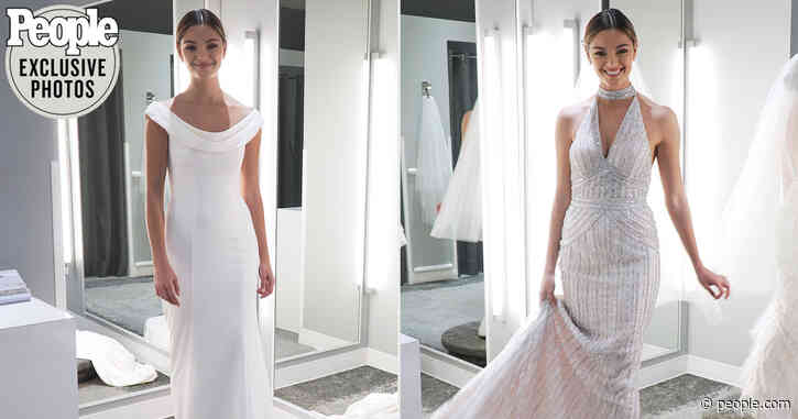 Inside Demi-Leigh Nel-Peter's Final Wedding Dress Fitting: See the Exclusive Video and Photos