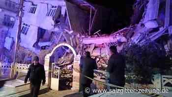 Beben: Schweres Erdbeben erschüttert Türkei – mindestens 14 Tote
