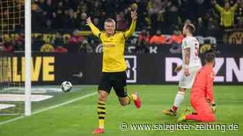 Bundesliga: BVB feiert Kantersieg - Super-Joker Haaland trifft weiter