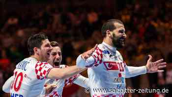 Europameisterschaft: Kroatien nach Handball-Krimi im EM-Finale gegen Spanien