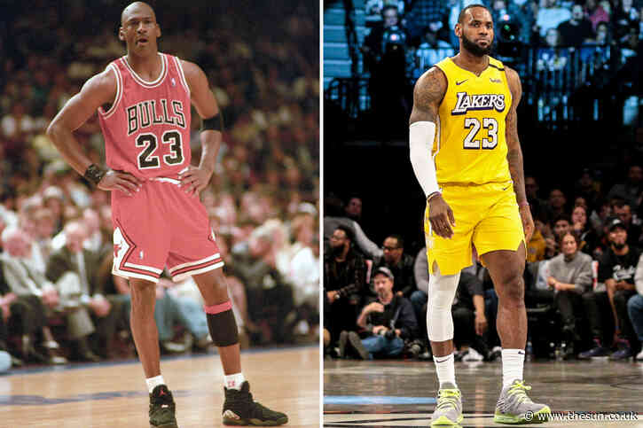 Michael Jordan has his say on LeBron James – but won't be drawn on GOAT talk as NBA icons played in 'different eras'
