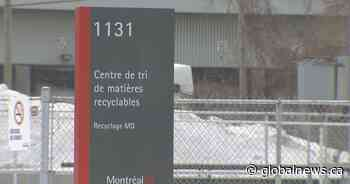 Future of Montreal recycling uncertain after company announces intention to cease operations