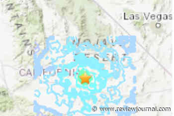4.6 quake hits near Barstow in California; felt in Las Vegas