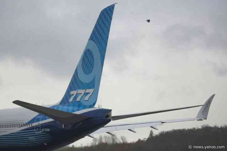Wind forces Boeing to again delay first flight of 777X