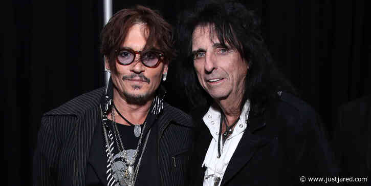 Johnny Depp, Alice Cooper, John Legend & More Honor Aerosmith at MusiCares Person of the Year Event