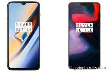 OnePlus 6T, OnePlus 6 Start Receiving OxygenOS 10.3.1 With Bug Fixes, December Security Patch
