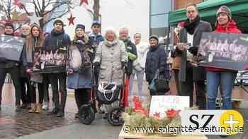 Mahnwache gegen neue Massenställe im Kreis Gifhorn