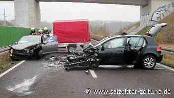 Schwerer Unfall im Kreis Helmstedt – Fahrerin verletzt