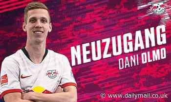 RB Leipzig complete signing of Manchester United and Barcelona target Dani Olmo