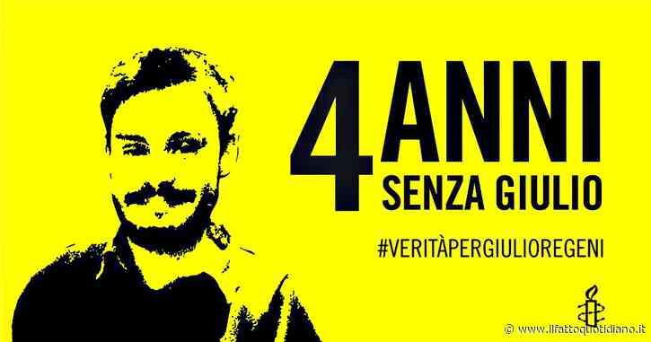 """Regeni, 4 anni dopo fiaccolate in tutta Italia. La mamma: """"Grazie a chi ci sta vicino"""". Amnesty: """"Dal Cairo depistaggi e perdite di tempo"""""""