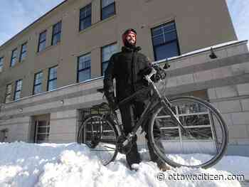 Pinder: How (and why) I became an Ottawa winter cyclist