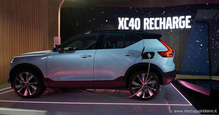 Volvo XC40 Recharge P8 AWD, il suv svedese 100% elettrico debutta a Milano – FOTO