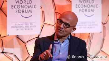 All the books Microsoft CEO Satya Nadella talked about at Davos