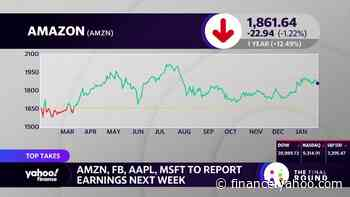 Investors brace for slew of tech earnings next week