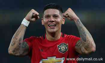 Marcos Rojo 'will join Estudiantes on loan' after Manchester United failed to find a buyer