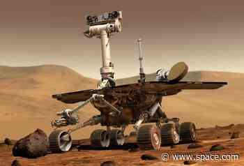 On This Day in Space: Jan. 25, 2004: Opportunity rover lands on Mars