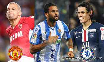 Manchester United, Chelsea and Tottenham set for January striker transfer scramble