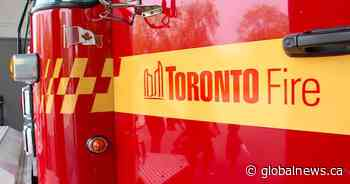 Woman critically injured after fire in Toronto's west end