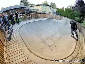 Kickflip This House: Maple Ridge home's unique selling point is a massive skateboard bowl in the backyard