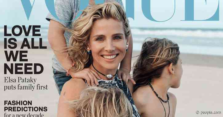 Elsa Pataky and Chris Hemsworth's Daughter, 7, and Twin Sons, 5, Make Vogue Debut with Their Mom
