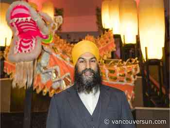 NDP Leader Jagmeet Singh rings in Lunar New Year in Burnaby