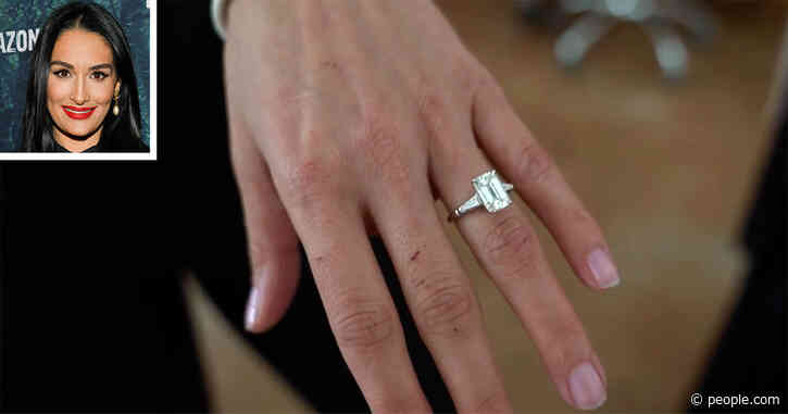 Nikki Bella Gives First Close-Up Look at Her Engagement Ring After Artem Chigvintsev's Proposal