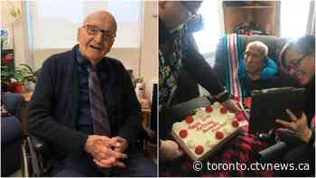 Two Ontario veterans celebrate shared 107th birthday