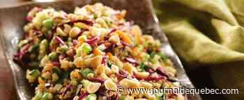 Salade de quinoa et d'edamames
