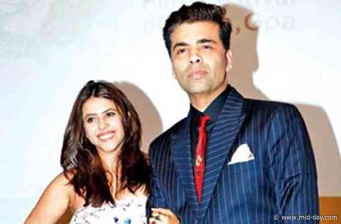 Karan Johar and Ekta Kapoor conferred with the Padma Shri Award for their contribution to Cinema