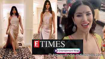 Priyanka Chopra stuns in a gorgeous satin gown as she attends pre Grammys gala night; Sunny Leone's desi avatar is beautiful, and more…