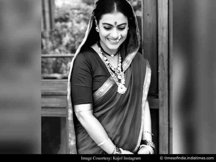 Kajol shares first look test of 'Tanhaji'