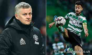 Manchester United remain locked in transfer talks with Sporting Lisbon over Bruno Fernandes