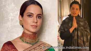 Kangana Ranaut expresses her gratitude towards Government of India for honouring her with Padma Shri