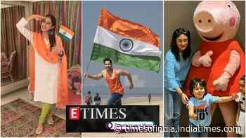 Republic Day 2020: From Shah Rukh Khan to Sara Ali Khan, Bollywood extends greetings; Taimur Ali Khan gets super excited after meeting Peppa Pig, and more…