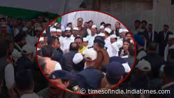 Watch: Brawl between Congress leaders during flag hoisting ceremony in MP